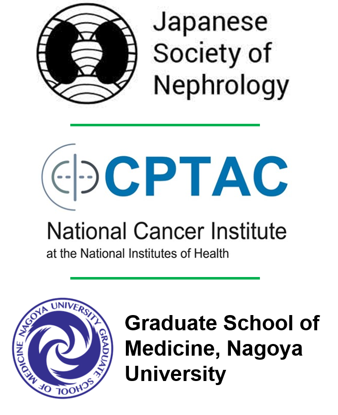 Logos for CPTAC JSN and Nagoya University