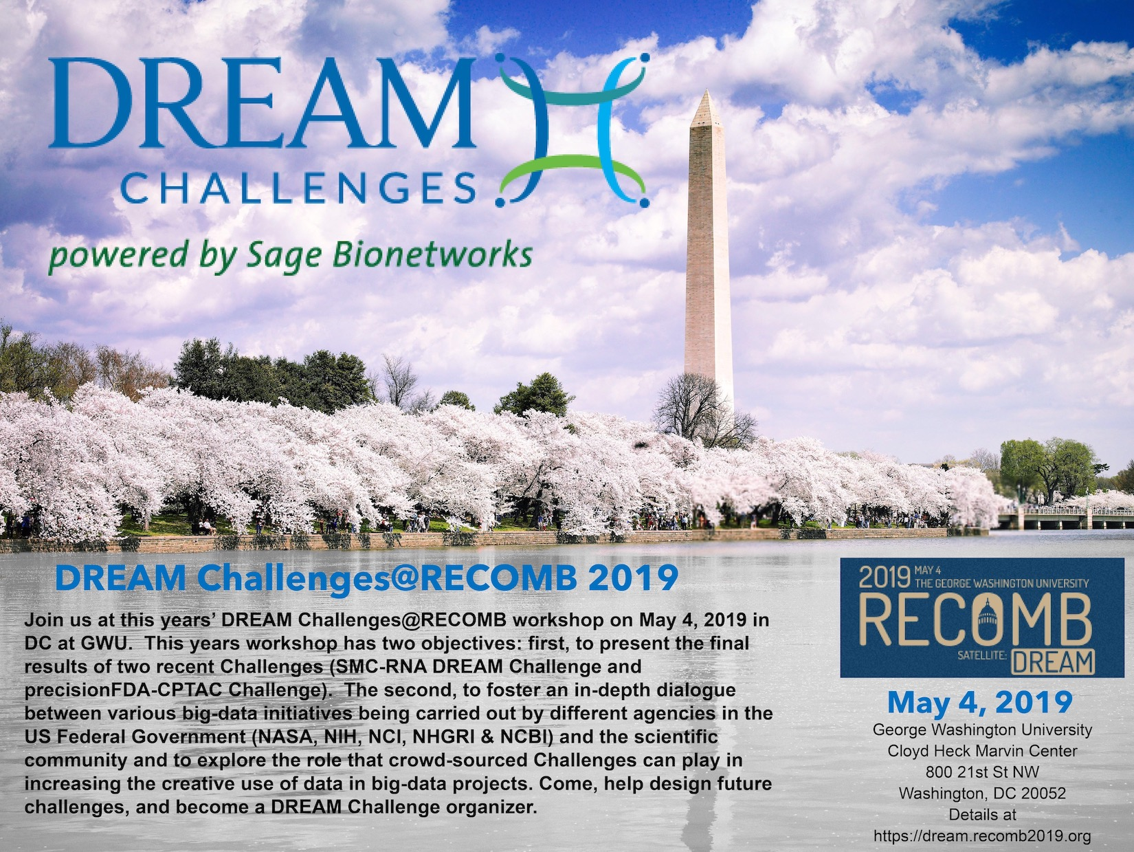pFDA CPTAC DREAM 2019 Flyer