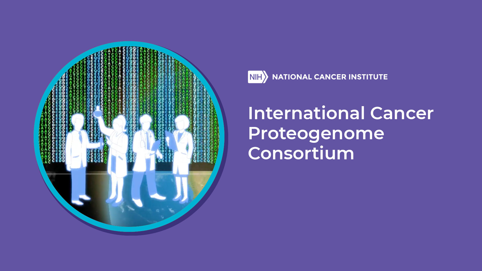 International Cancer Proteogenome Consortium